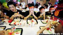 McDonalds Kunden in China