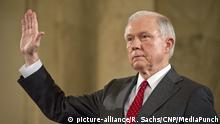 United States Senator Jeff Sessions (Republican of Alabama) is sworn-in during the US Senate Judiciary Committee confirmation hearing on his nomination to be Attorney General of the United States on Capitol Hill in Washington, DC on Tuesday, January 10, 2017. Credit: Ron Sachs / CNP /MediaPunch |