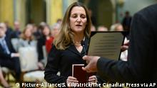 Kanada Chrystia Freeland neue Außenminister