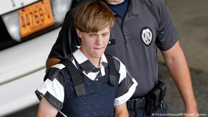 USA Charleston Attentat Dylann Roof (Picture-Alliance/AP Photo/C. Burton)
