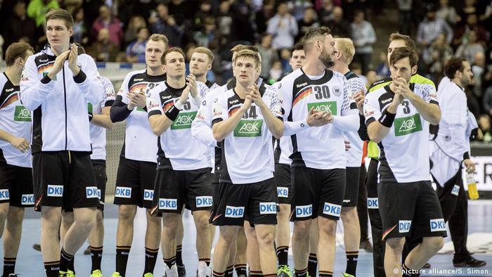 Handball Laenderspiel Deutschland - Rumaenien