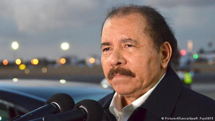 Nicaraguas Präsident Daniel Ortega (Picture-Alliance/dpa/R. Pujol/EFE)