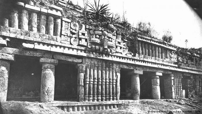 Las ruinas de Sayil.