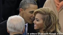 USA Washington - Beyonce und Barack Obama