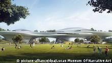 USA Pläne für das Lucas Museum of Narrative Art in Los Angeles