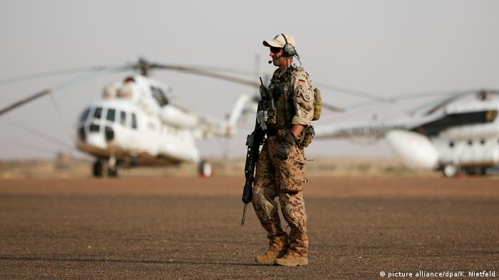 Mali Bundeswehrsoldat in Gao