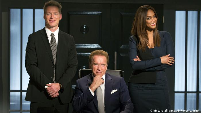 Arnold Schwarzenegger on The New Celebrity Apprentice (picture-alliance/AP Photo/L. Trinh)