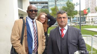 Angola Justiz Rafael Marques e Varela de Matos (DW/J. Carlos)