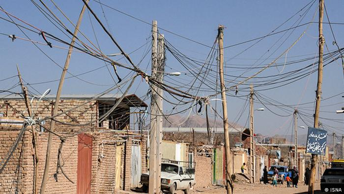 Iran Armut Leben in Slums Stromversorgung