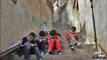 Iran Armut Leben in Slums Hausaufgaben