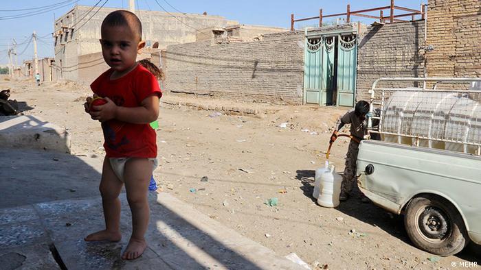 Iran Armut Leben in Slums Wasserversorgung (MEHR)