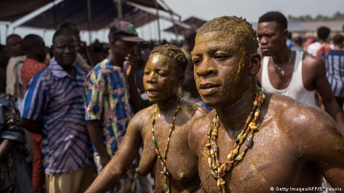 Benin Voodoo Festival in Ouidah (Getty Images/AFP/S. Heunis)