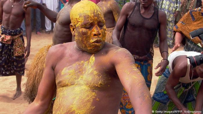Benin Voodoo Festival in Ouidah (Getty Images/AFP/F. Vidjingninou)