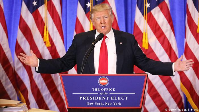 USA Donald Trump Pressekonferenz in New York City