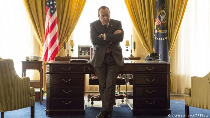 Film Review Elvis Nixon Kevin Spacey (picture alliance/AP Photo)