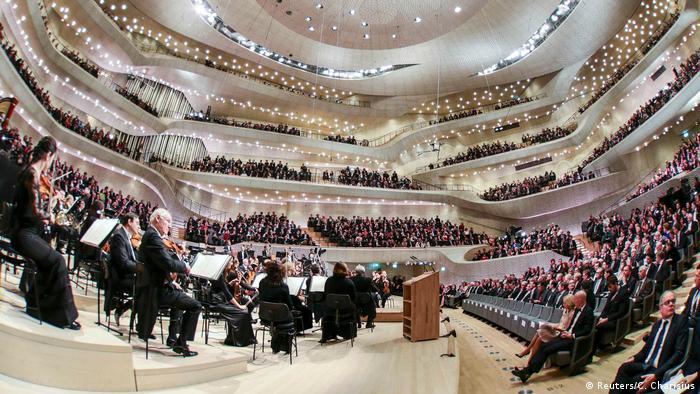 Ельбська філармонія, концерт