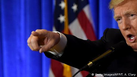 New York City Trump erste PK als designierter Präsident (Ausschnitt) (Getty Images/AFP/T. A. Clary)