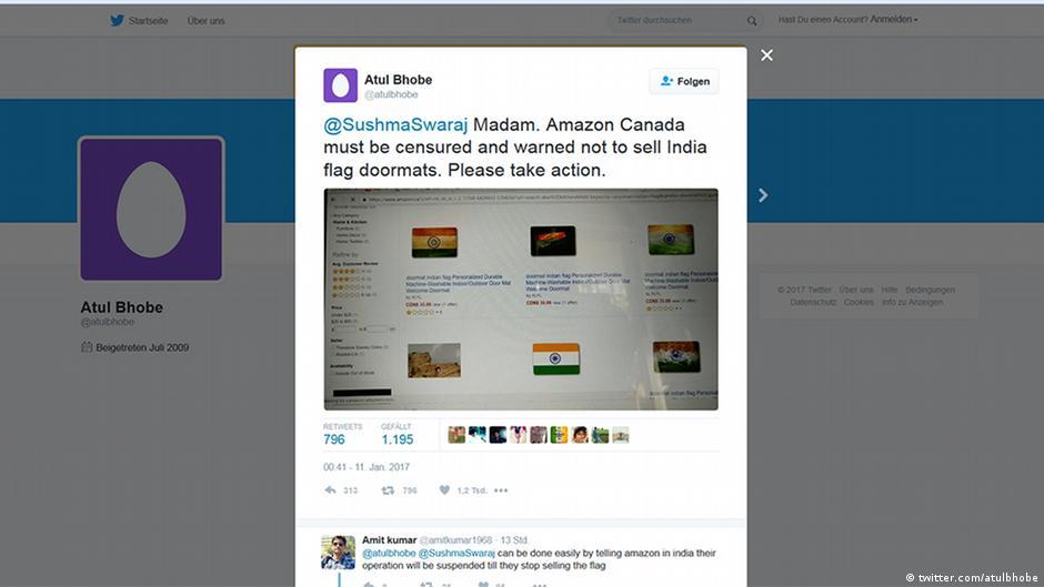 818f216a7b979 Amazon′s ′Gandhi flip-flops′ fuel nationalistic sentiment in India ...