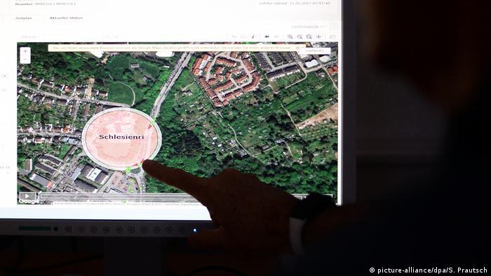 Bad Vilbel Überwachungszentrale elektronische Fußfessel