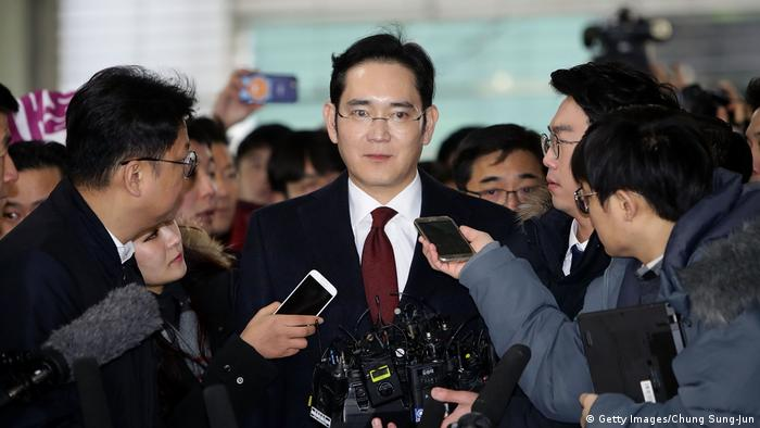Lee Kun-Hee's son, Jay Y. Lee, has beenembroiled in legal troubles since 2017