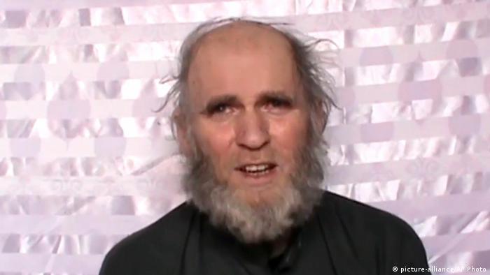 Afghanistan Enführter Kevin King (picture-alliance/AP Photo)