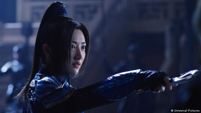 Tian Jing in The Great Wall (Universal Pictures)
