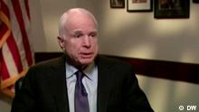 USA DW Interview mit Senator McCain