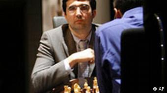 Herausforderer Vladimir Kramnik enttäuschte bislang