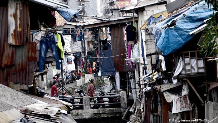 Indonesien Umweltverschmutzung in Jakarta (Getty Images/AFP/G. Chai Hin)