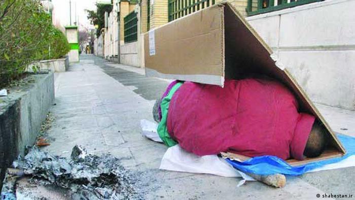 Iran Obdachlose in Teheran (shabestan.ir)