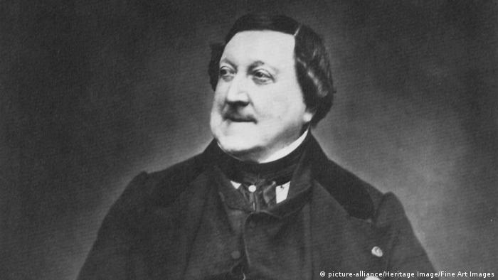 Italian composer Gioachino Rossini (ca. 1865) (picture-alliance/Heritage Image/Fine Art Images)