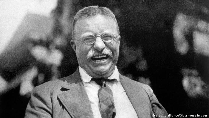 Theodore Roosevelt, 26th US President (picture-alliance/Glasshouse Images)