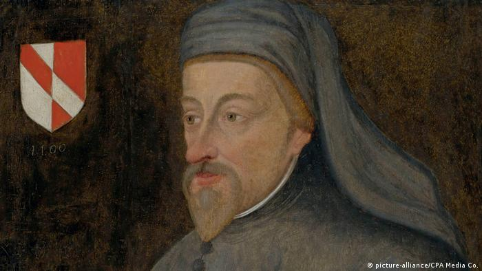 English poet Geoffrey Chaucer (c. 1343-1400) (picture-alliance/CPA Media Co.)