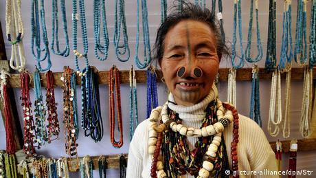 Indien Apatani-Stamm
