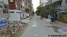 Bangladesch Straße in Dhaka