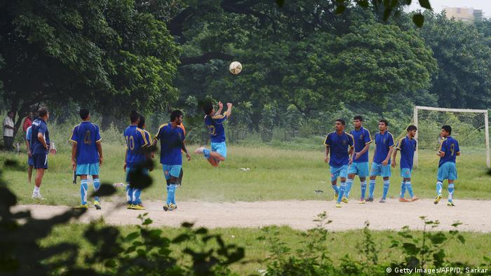 Indien Fußball National Mannschaft (Getty Images/AFP/D. Sarkar)