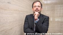 Abu Dhabi, United Arab Emirates - December 15, 2015 - ARD investigative journalist and doping expert Hajo Seppelt posing during a photoshoot in the Jumeirah at Etihad Towers hotel on December 15, 2015 in Abu Dhabi, United Arab Emirates.   Verwendung weltweit