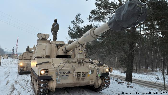 Rússia critica envio de tropas dos EUA à Polônia
