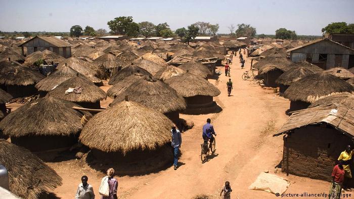 Uganda Gulu Alltag Menschen (picture-alliance/dpa/S.Digge)