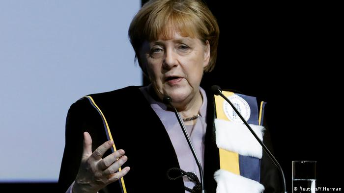 Ehrendoktortitel Angela Merkel Brüssel