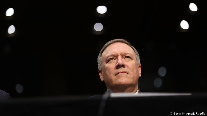 Incoming US Secretary of State Mike Pompeo