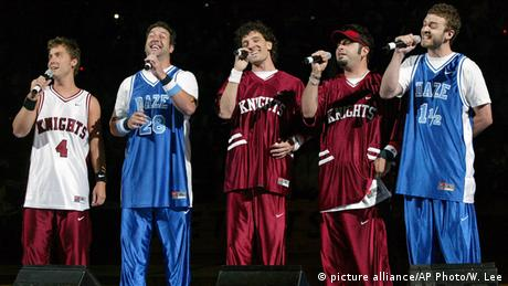 *NSYNC (picture alliance/AP Photo/W. Lee)
