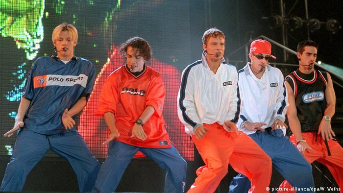 Tag der Jogginghose - Backstreet Boys (picture-alliance/dpa/W. Weihs)