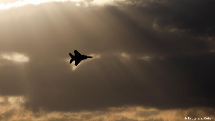 Israel Air Force F-15 Kampfjet (Reuters/a. Cohen)