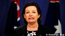 FILE PHOTO - Sussan Ley, Australia's Minister for Sport, speaks during a media conference in Sydney, Australia, July 25, 2016. REUTERS/David Gray/File Photo