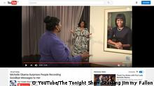 Screenshot YouTube Michelle Obama The Tonight Show Starring Jimmy Fallon