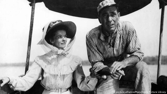 Filmstill African Queen mit Humphrey Bogart (picture-alliance/Mary Evans Picture Library)