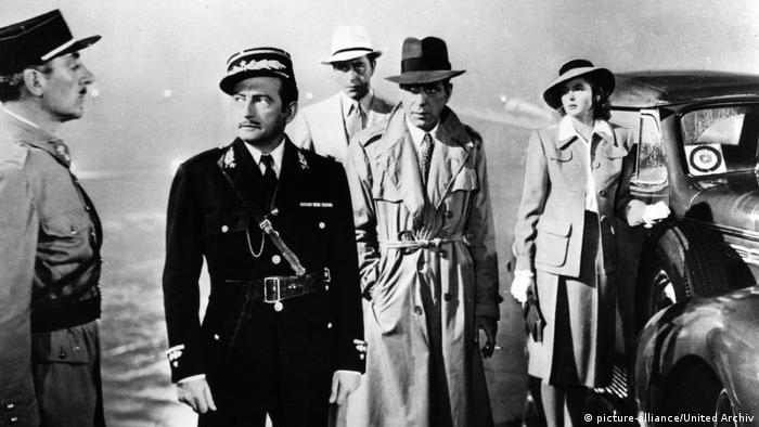 Imagen del filme Casablanca.
