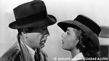 Filmstill Casablanca mit Humphrey Bogart