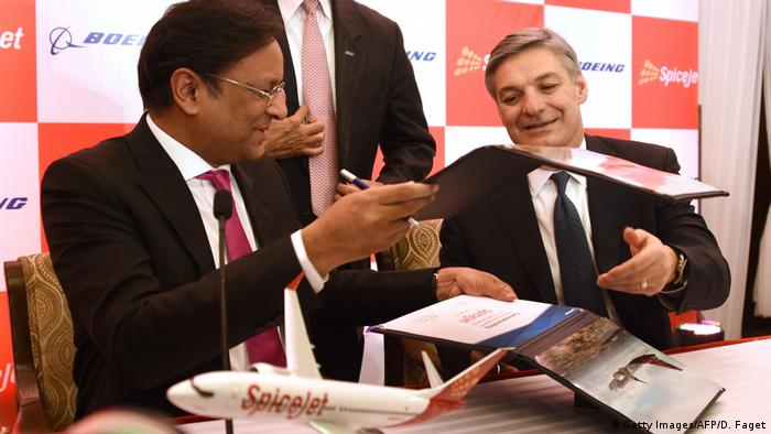Spicejet orders Boeing planes (Getty Images/AFP/D. Faget)
